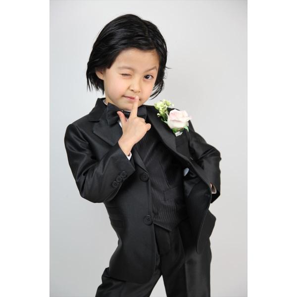 2ee51232d2ad3 ... 子供タキシード キッズ フォーマル スーツ 男の子 子供服 シルバー ブラック ゴールド 3色 結婚式 ピアノ