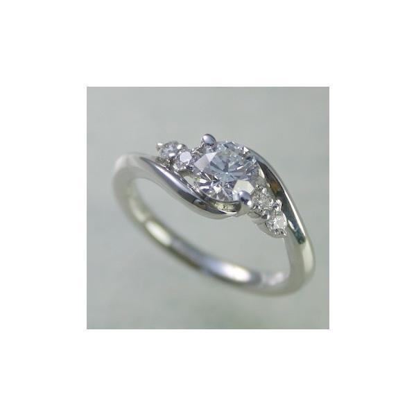 婚約指輪 プラチナ ダイヤモンド 0.4ct GIA鑑定書付 0.41ct Dカラー FLクラス 3EXカット GIA
