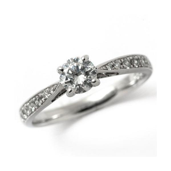 婚約指輪 プラチナ ダイヤモンド 0.7ct GIA鑑定書付 0.70ct Dカラー FLクラス 3EXカット GIA