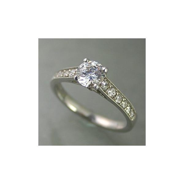 婚約指輪 プラチナ ダイヤモンド 0.5ct GIA鑑定書付 0.57ct Dカラー VVS2クラス 3EXカット GIA