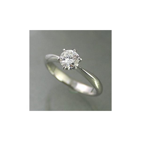 婚約指輪 安い エンゲージリング ダイヤモンド 3カラット プラチナ 鑑定書付 3.013ct Gカラー I1クラス EXカット CGL