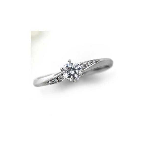 婚約指輪 エンゲージリング ダイヤモンド 1.0ct プラチナ 鑑定書付ダイヤモンド 1.003ct Fカラー SI2クラス VGカット CGL