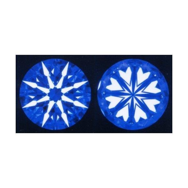 ダイヤモンド ルース 裸石 0.4ct 鑑定書付 0.430ct Eカラー VVS2クラス 3EXカット H&C CGL