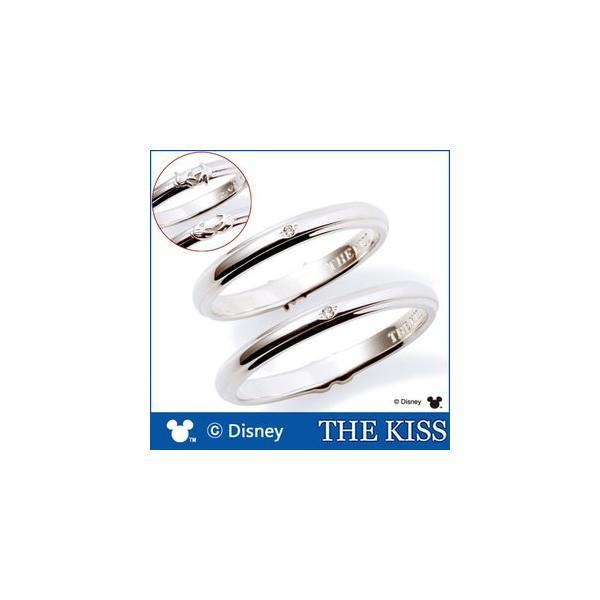 ペアリング ディズニー ミッキー ミニー 指輪 THE KISS ダイヤモンド シルバー SV925 ハンドモチーフ ペア DI-SR1814DM DI-SR1815DM|j-kimura