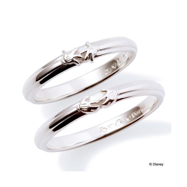 ペアリング ディズニー ミッキー ミニー 指輪 THE KISS ダイヤモンド シルバー SV925 ハンドモチーフ ペア DI-SR1814DM DI-SR1815DM|j-kimura|03