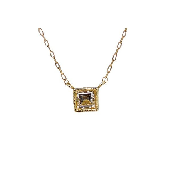 K18 ダイヤモンド ネックレス|j-lumiere