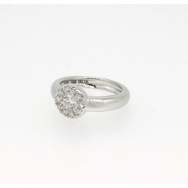 Baby Ring4月 K18WG ダイヤモンドのベビーリング(ネックレス、保証書、箱付き)|j-lumiere|02