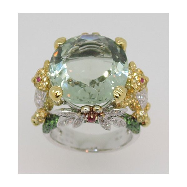 K18WG グリーンアメシスト ダイヤモンド リング|j-lumiere|02