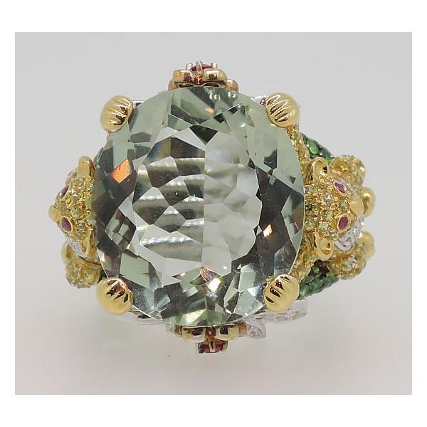 K18WG グリーンアメシスト ダイヤモンド リング|j-lumiere|03
