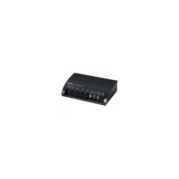 代引き・同梱不可 ELPA朝日電器 AVセレクター 4IN1 ASL-S411