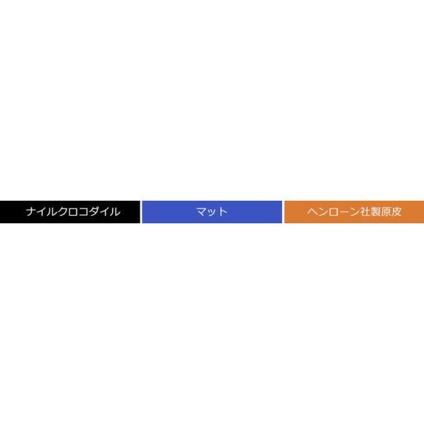 クロコダイル L字型 ファスナー 長財布 バイカラー マット加工 パイソン革使用 レディース 全14色|j-white|10