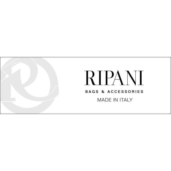 RIPANI [リパーニ] トートバッグ 牛革 レディース バイカラー ベルト デザイン  A4 通勤バッグ ブランド