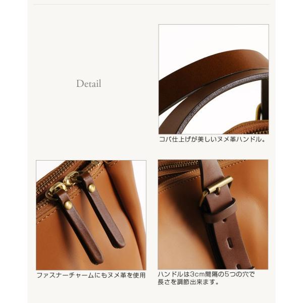 HALEINE[アレンヌ] 牛革 ビジネス バッグ 大 2way 日本製 ヌメ革 ハンドル ステッチ デザイン / メンズ A4 通勤バッグ ブランド ブランド|j-white|10