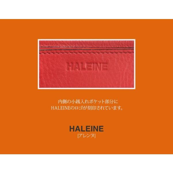 HALEINE クロコダイル 型押し 牛革 長財布 L字ファスナー レディース 全4色 スリム スマート 本革 レザー クロコ型押し|j-white|09