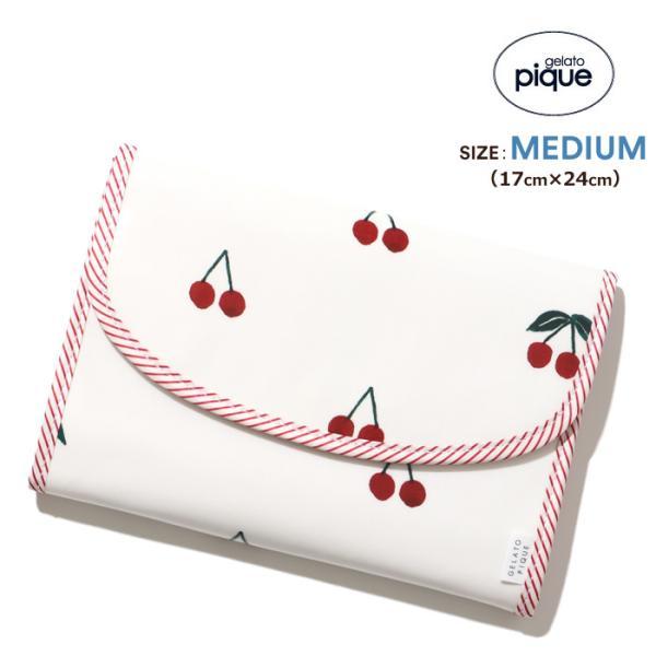 ジェラートピケ gelato pique 母子手帳ケース ジャバラ Mサイズ 二人用 母子手帳カバー ブランド 出産祝い/room