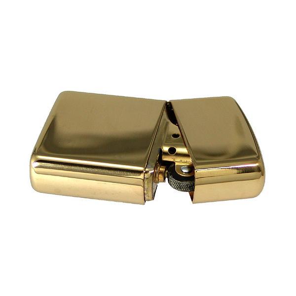 zippo ジッポ アーマージッポーライター169 真鍮無垢・ポリッシュ仕上げ ZIPPO SOLID BRASS|jackal|04