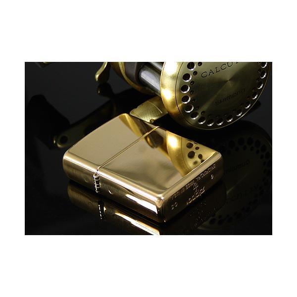 zippo ジッポ アーマージッポーライター169 真鍮無垢・ポリッシュ仕上げ ZIPPO SOLID BRASS|jackal|05