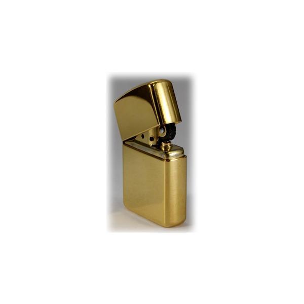 zippo ジッポ アーマージッポーライター169 真鍮無垢・ポリッシュ仕上げ ZIPPO SOLID BRASS|jackal|06