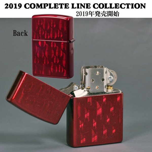 zippo(ジッポーライター) Iced Flame Candy Apple Red  #29824  両面同柄(ネコポスなら全国送料250円)|jackal|03