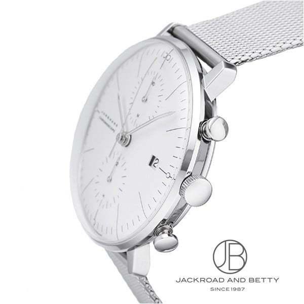 ユンハンス JUNGHANS マックスビル クロノスコープ 027/4600.00M 新品 時計 メンズ|jackroad|02