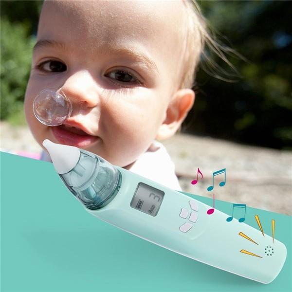 お客様感謝キャンペーン 期間限定電動鼻水吸引器 レベル調整可能 取り外すデザイン USB充電電池給電 音楽内蔵 LEDライト|jackyled|02