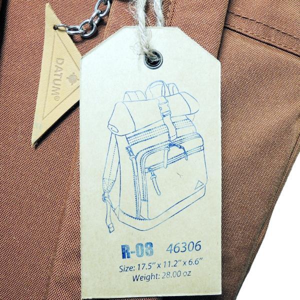 激安!リュックサック ロールトップパック バックパック デイタム レットロノス DATUM RETRONOS R-08 Roll n Go 46306 男女兼用カジュアルバッグ|jaguar-bagshop|09