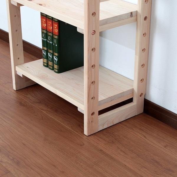 (専用オプション品) 国産檜つっぱりシェルフラック 追加棚 A 幅29.5cm 奥行29cm 上下段用|jajan-a|14