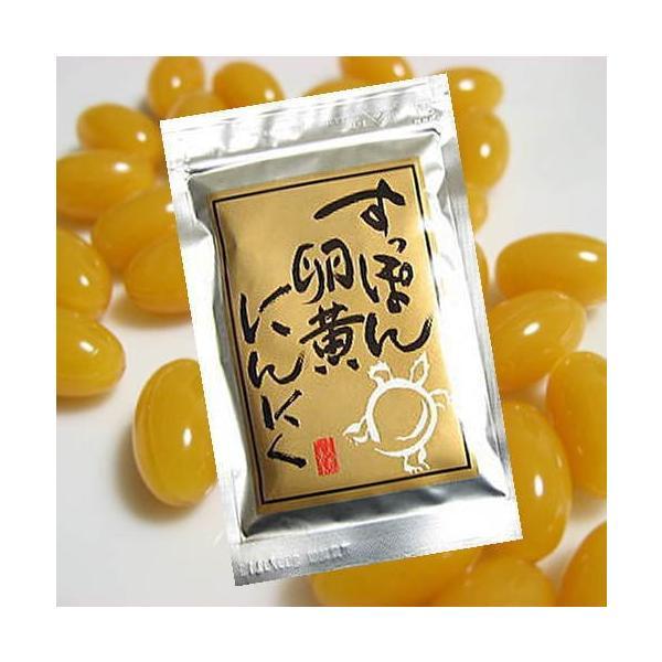 国産すっぽんサプリ にんにく卵黄 1ヶ月分 すっぽん卵黄にんにく  メール便 送料無料