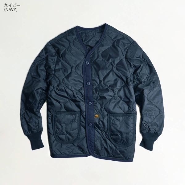 アルファ インダストリーズ ALPHA ALS/92 LINER M-65ジャケット用キルティングライナー BIG SIZE  (大きいサイズ M65 ライニング INDUSTRIES FAIR35) jalana 07