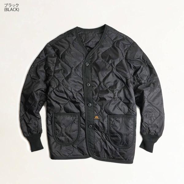 アルファ インダストリーズ ALPHA ALS/92 LINER M-65ジャケット用キルティングライナー BIG SIZE  (大きいサイズ M65 ライニング INDUSTRIES FAIR35) jalana 08