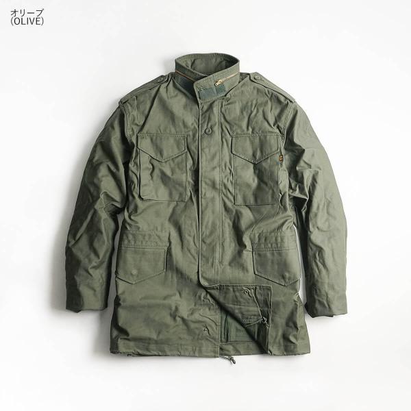 アルファ インダストリーズ ALPHA M-65 フィールドジャケット  (M65 FIELD JACKET INDUSTRIES FAIR35)|jalana|04