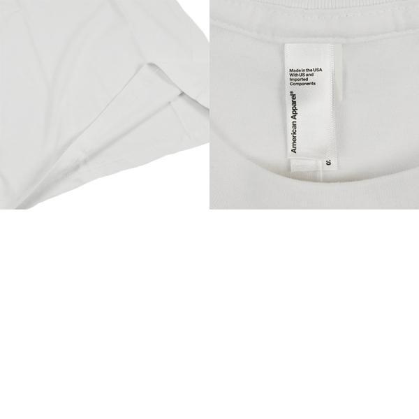アメリカンアパレル American Apparel #2001 半袖 Tシャツ クルーネック (Fine Jersey Crewneck T-Shirt 無地 アメアパ)|jalana|07