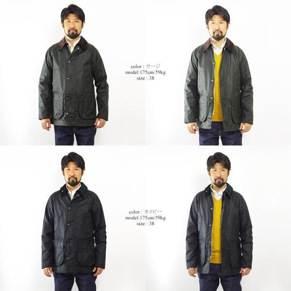 バブアー Barbour ビデイル SL ジャケット (BEDALE スリムフィット 日本代理店モデル)|jalana|02