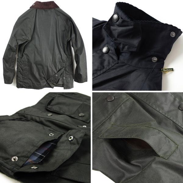バブアー Barbour ビデイル SL ジャケット (BEDALE スリムフィット 日本代理店モデル)|jalana|07