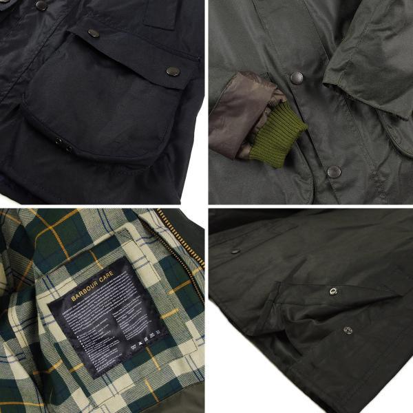 バブアー Barbour ビデイル SL ジャケット (BEDALE スリムフィット 日本代理店モデル)|jalana|08
