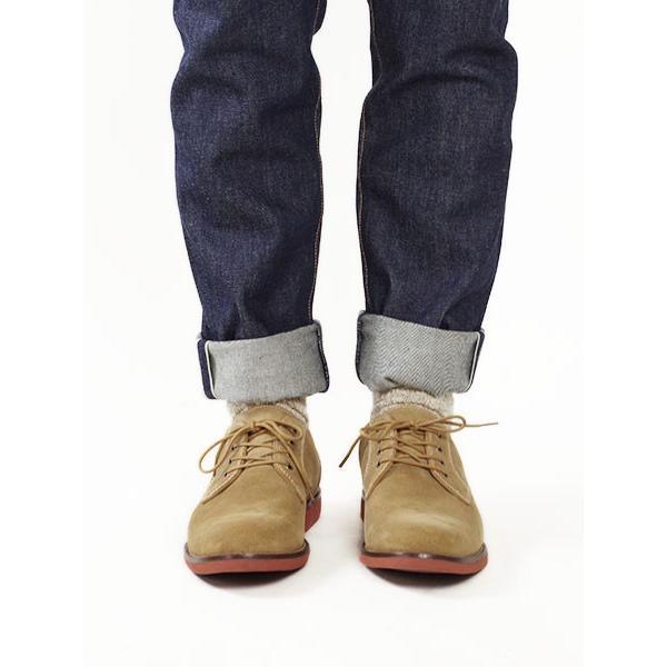 バス G.H.BASS オックスフォード シューズ プロクター ダーティーバックスエード (PROCTOR 革靴)|jalana|03