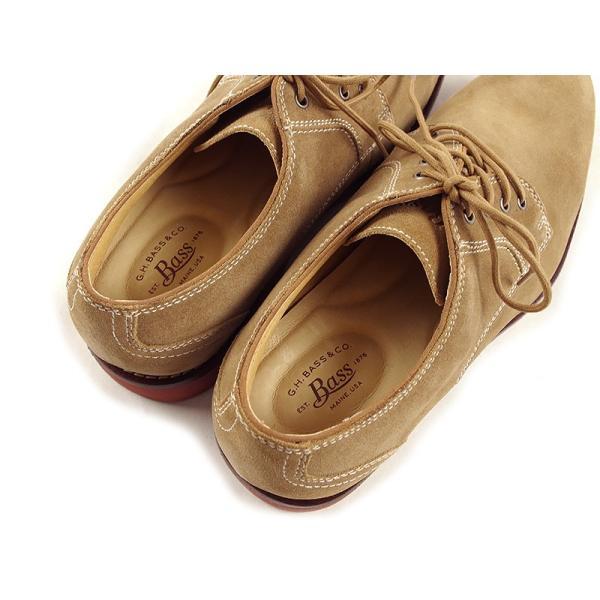 バス G.H.BASS オックスフォード シューズ プロクター ダーティーバックスエード (PROCTOR 革靴)|jalana|08