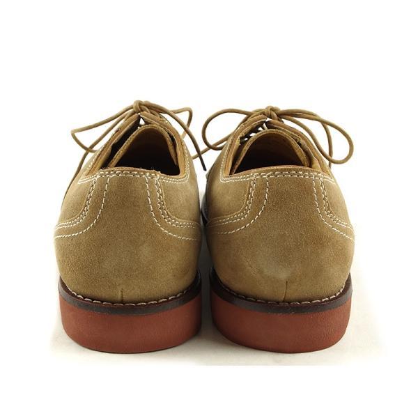 バス G.H.BASS オックスフォード シューズ プロクター ダーティーバックスエード (PROCTOR 革靴)|jalana|09