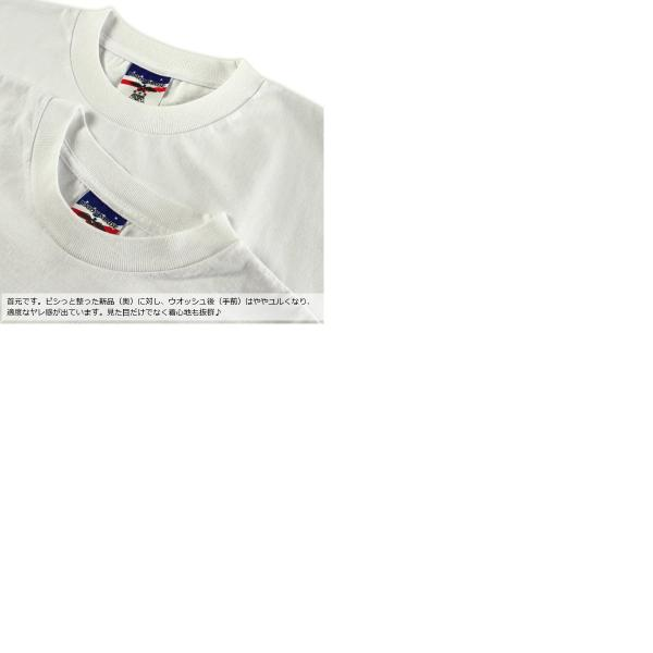 ベイサイド BAYSIDE 3015JAL Jalana別注 7オンス 半袖 ポケット Tシャツ ユニオンメイド ■バンダナサービス■(白Tシャツ 無地 アメリカ製 米国製) jalana 10