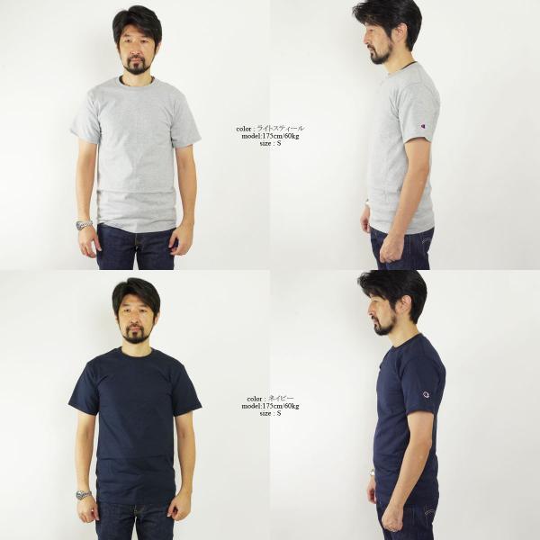 チャンピオン Champion #T425 5.2オンス 半袖 Tシャツ ビッグサイズ (大きいサイズ 無地 米国流通モデル)|jalana|03