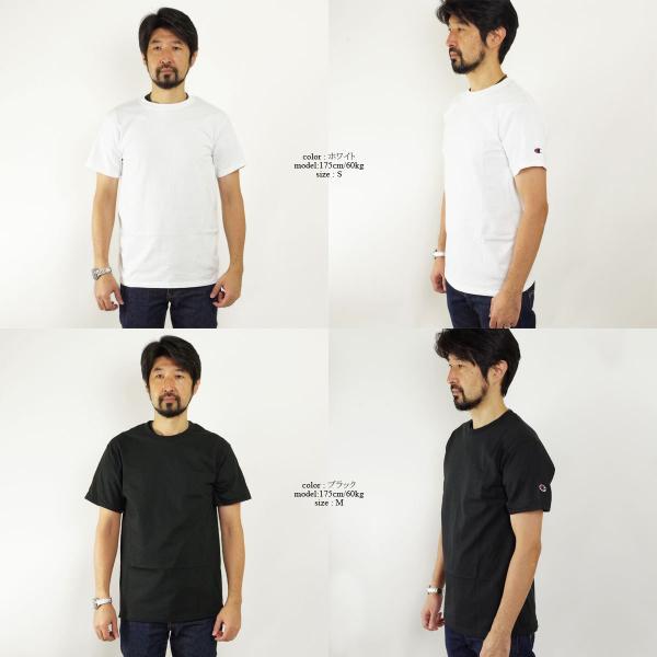 チャンピオン Champion #T425 5.2オンス 半袖 Tシャツ (無地 米国流通モデル) jalana 02