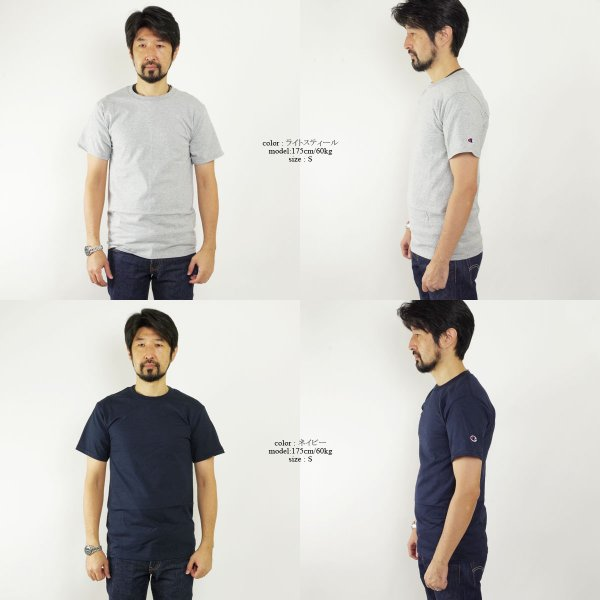 チャンピオン Champion #T425 5.2オンス 半袖 Tシャツ (無地 米国流通モデル) jalana 03