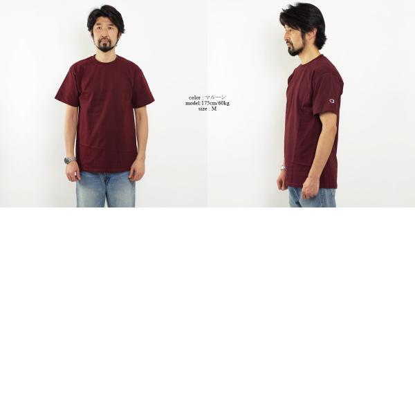 チャンピオン Champion #T425 5.2オンス 半袖 Tシャツ (無地 米国流通モデル) jalana 05