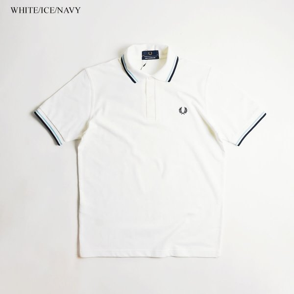 フレッドペリー FRED PERRY M12 ツインティップド 半袖 ポロシャツ(TWIN TIPPED 英国製 イングランド製 鹿の子) jalana 02