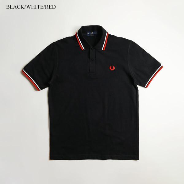 フレッドペリー FRED PERRY M12 ツインティップド 半袖 ポロシャツ(TWIN TIPPED 英国製 イングランド製 鹿の子) jalana 03