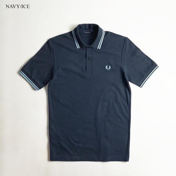 フレッドペリー FRED PERRY M12 ツインティップド 半袖 ポロシャツ(TWIN TIPPED 英国製 イングランド製 鹿の子) jalana 04