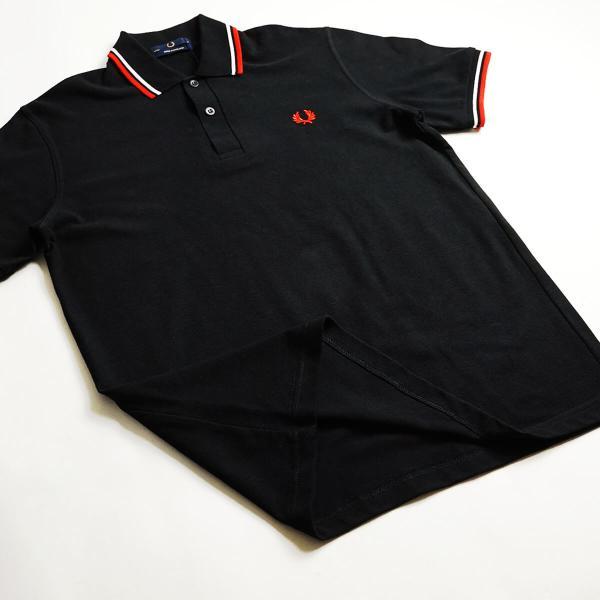 フレッドペリー FRED PERRY M12 ツインティップド 半袖 ポロシャツ(TWIN TIPPED 英国製 イングランド製 鹿の子) jalana 06
