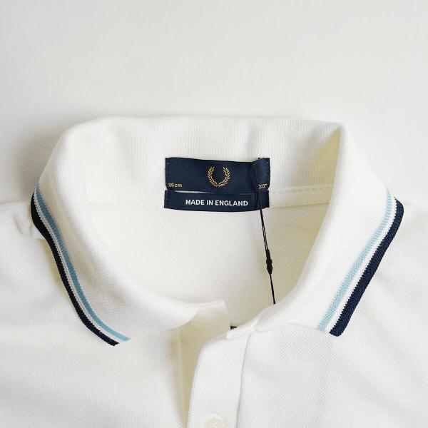 フレッドペリー FRED PERRY M12 ツインティップド 半袖 ポロシャツ(TWIN TIPPED 英国製 イングランド製 鹿の子) jalana 07