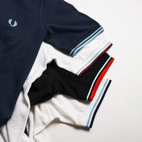 フレッドペリー FRED PERRY M12 ツインティップド 半袖 ポロシャツ(TWIN TIPPED 英国製 イングランド製 鹿の子) jalana 08