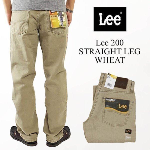 リー Lee #200 ストレート ジーンズ ウィート(STRAIGHT LEG JEAN WHEAT)